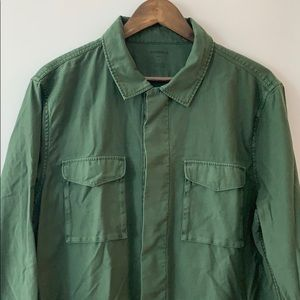 BONOBOS Military Style Shirt Jacket